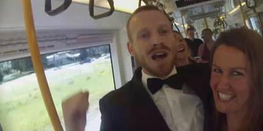 Australien: Mann startet Party im Zug