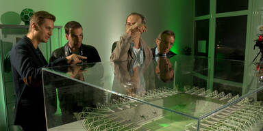 Präsentation des Allianz-Stadion Modells
