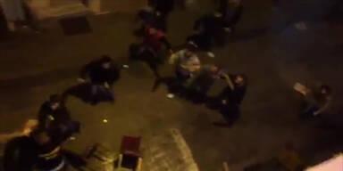 Hooligan-Attacke auf Dortmund-Fans