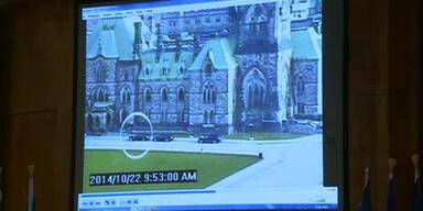 Überwachungskameras zeigen Angreifer