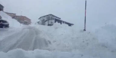 Tiefster Winter in Vorarlberg