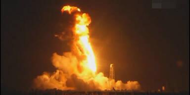 US-Raumfrachter explodiert