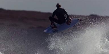 So langsam sah man Surfer noch nie