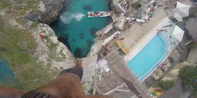 Klippenspringen in Jamaica