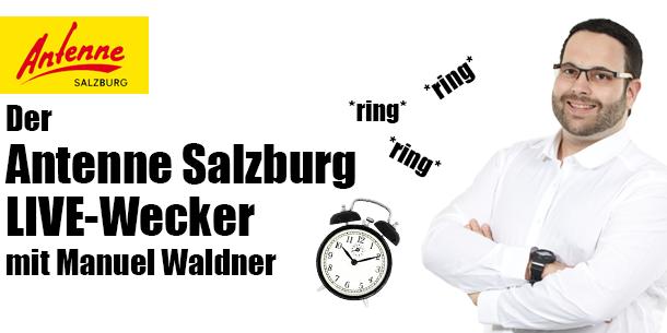 Der Antenne Salzburg LIVE-Wecker!