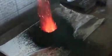 Gruseliges Tor zur Hölle