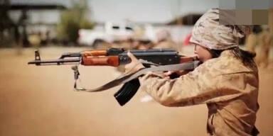 IS schult Kinder für den Krieg