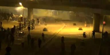 Proteste wegen  Mubarak-Verfahren