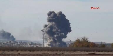 Selbstmordanschläge in Kobane