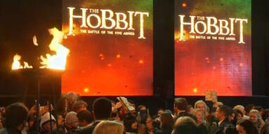 Der dritte Hobbit Film feierte Weltpremiere