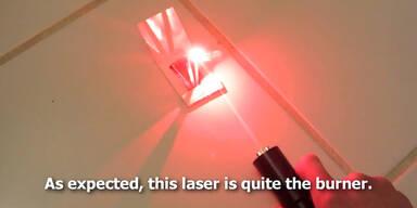 Stärkster Laserpointer der Welt