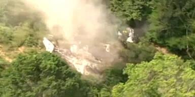 Zehn Tote nach Flugzeugabsturz