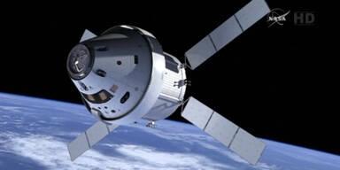NASA bricht Orion-Start ab