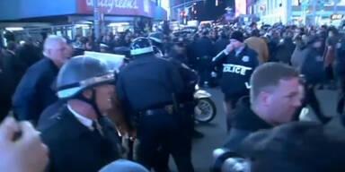 Proteste gegen US-Polizeigewalt