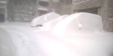 3 Meter Schnee in Sibirien