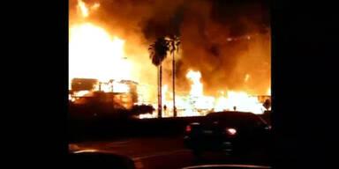 Feuer in Los Angeles unter Kontrolle