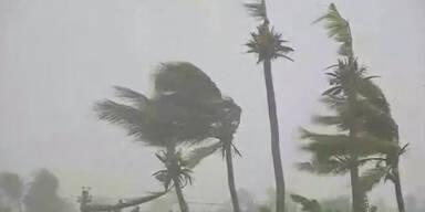 """""""Hagupit"""" zieht über die Philippinen"""