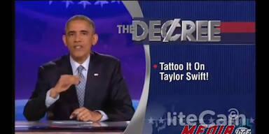 Barrack Obama beweist Humor