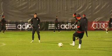 Gelassenheit beim FC Bayern