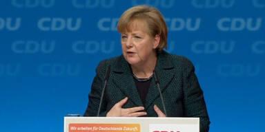 Merkel als CDU Vorsitzende bestätigt