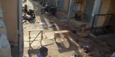 Bombenanschläge in Nigeria