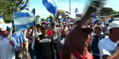 Proteste gegen Kanalbau in Nicaragua