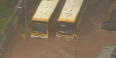 Überschwemmungen in Sao Paulo