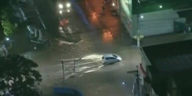 Sao Paolo unter Wasser