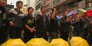 Barrikaden in Hongkong geräumt