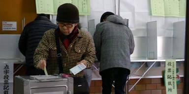 Japan: Vorzeitige Parlamentswahlen