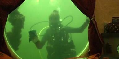 Unterwasser Klassenraum