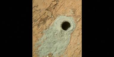 Mars: Methan Schwankungen