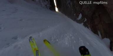 Heftigste Ski-Abfahrt aller Zeiten