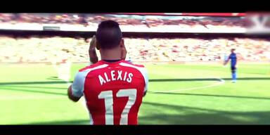 Alexis Sánchez - Tore, Tricks, Assists