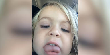 3-Jährige macht 677 Selfies