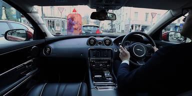 Virtuelle Realität im Auto