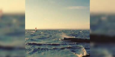 4.Advent Windsurfen am Neusiedlersee