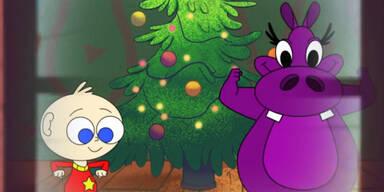 Weihnachtlicher Hippo Song