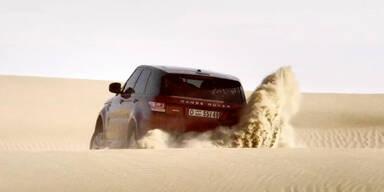 Wüsten Challenge von Range Rover Sport