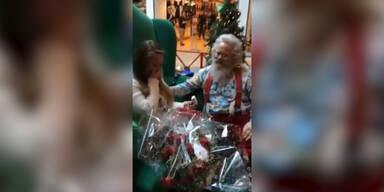 Heiratsantrag vom Weihnachtsmann