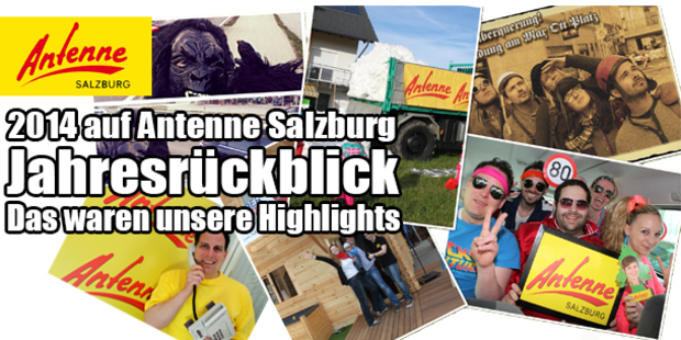 Antenne Salzburg Jahresrückblick