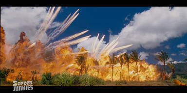 Film-Explosionen zu Silvester