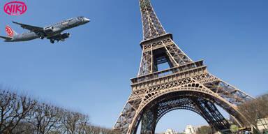 Mit NIKI und MADONNA nach Paris