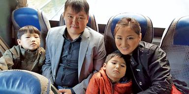 Mongolische Familie Bad Aussee