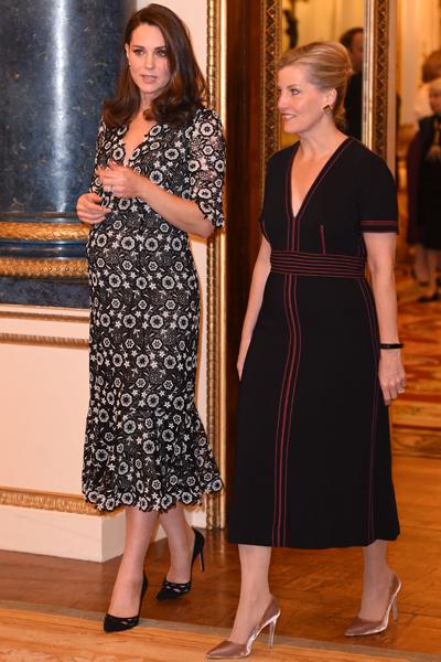 Herzogin Kate auf der Fashion Week