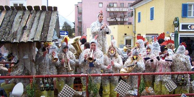 Ganz Salzburg im Faschingsfieber