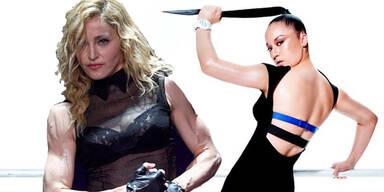 Das Work-Out von Madonna