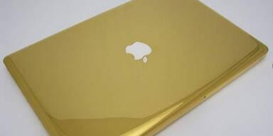 Das ist das 24-Karat Gold MacBook Pro