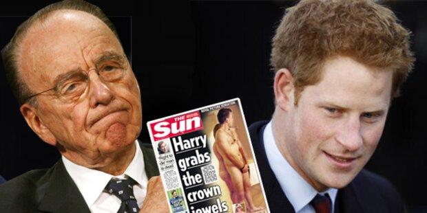 Medienzar Murdoch verteidigt Prinz Harry
