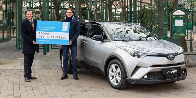 15.000 Hybrid-Toyotas in Österreich